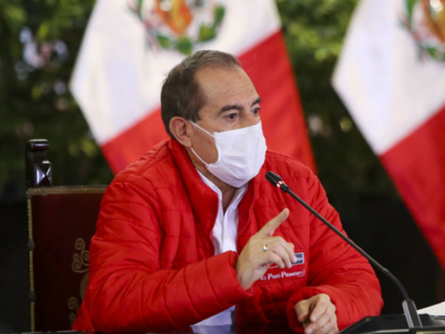 """Martos sobre Resucita Perú: """"Es una iniciativa amplia para combatir esta pandemia"""""""