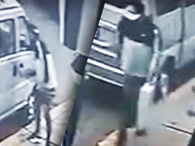 Chorrillos roban autopartes frente a una comisaría