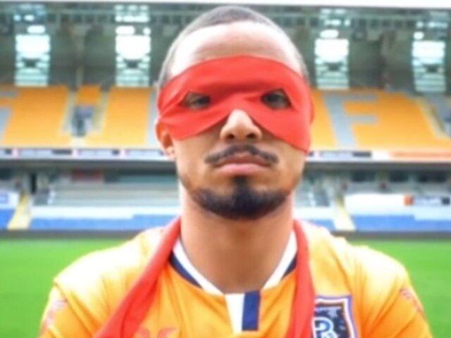 Rafael: jugador brasileño se convierte en tortuga ninja en presentación con su nuevo club