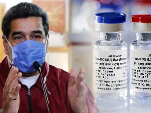 Maduro propone vacunar a candidatos a elecciones antes que a la población vulnerable