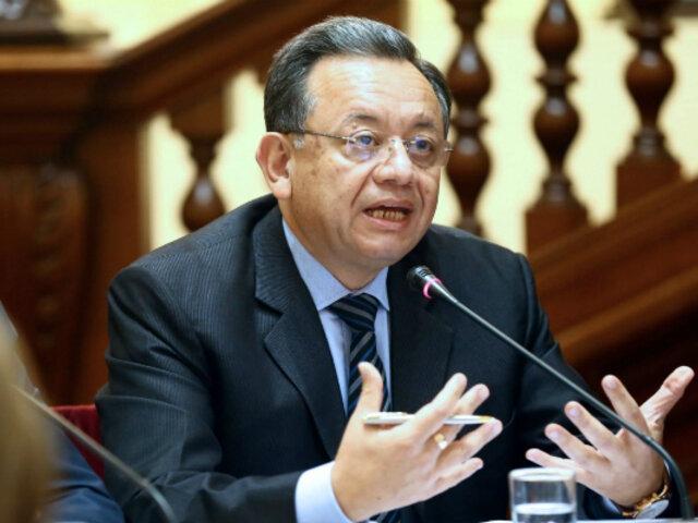 Edgar Alarcón: Subcomisión evaluó en sesión reservada denuncia contra legislador de UPP