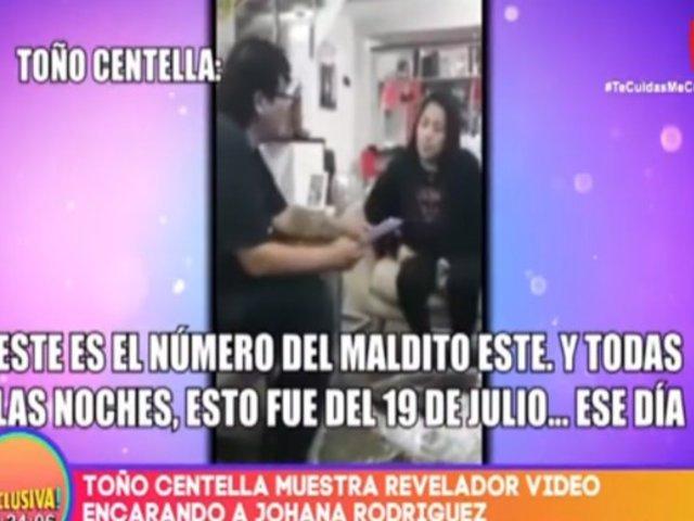 Toño Centella publicó video donde encara a su esposa por presunta infidelidad