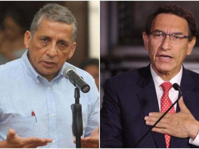 Antauro Humala se mostró a favor de vacancia del presidente Martín Vizcarra