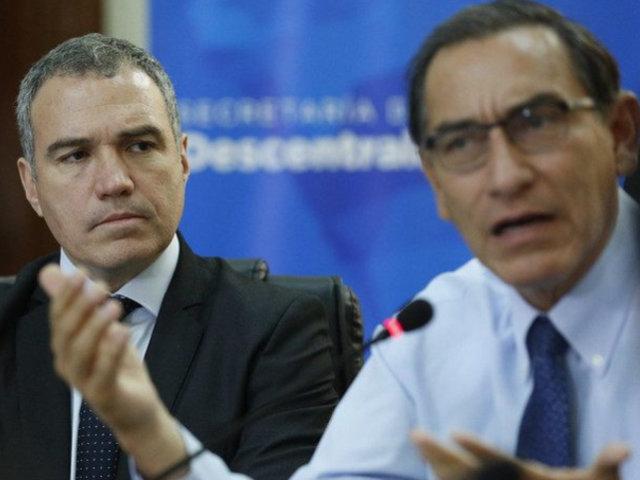 El ex primer ministro Salvador Del Solar en contra de vacancia del presidente en un contexto de crisis sanitaria