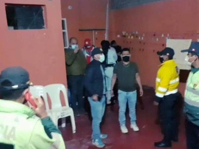 La Libertad: intervienen a 32 extranjeros durante una fiesta en pleno toque de queda
