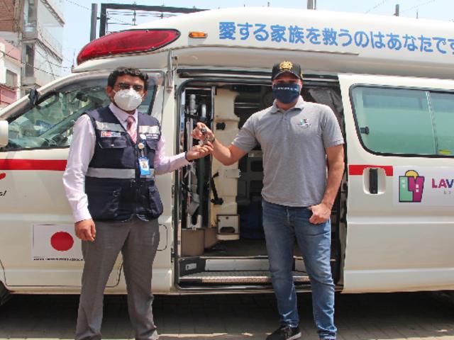 La Victoria: colocan ambulancia permanente para atender emergencias en Gamarra