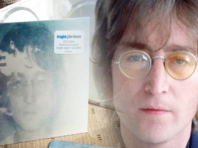 John Lennon: se cumplen 49 años del lanzamiento de 'Imagine'