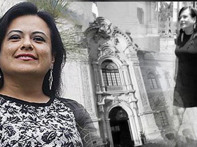 Palacio de Gobierno acepta renuncia de Mirian Morales y corta vínculo laboral con Karem Roca