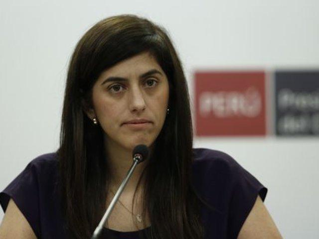 María Antonieta Alva: recuperación de economía peruana está en marcha