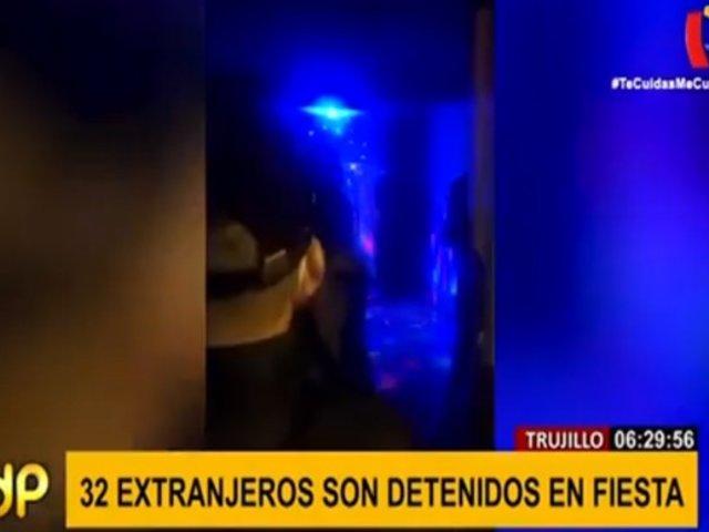 Trujillo: invervienen a más de 30 personas que celebraban fiesta en vivienda