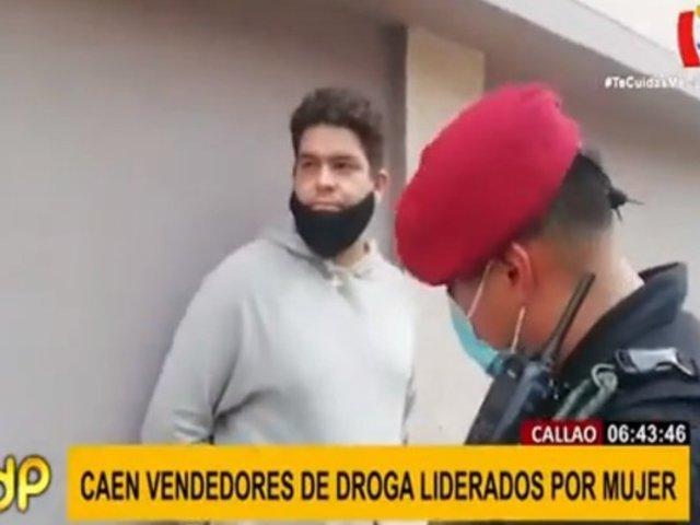 Callao: detienen a microcomercializadores de droga