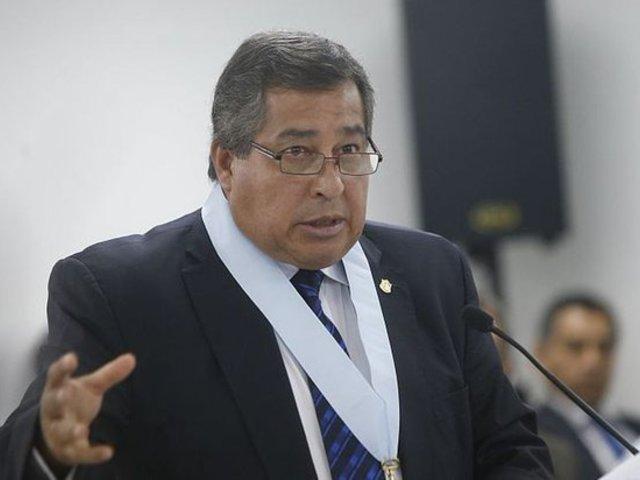 """Aníbal Quiroga asegura que demanda competencial """"no tiene sustento"""""""