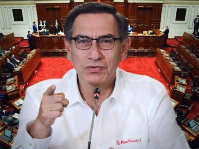 Día decisivo: Congreso debate hoy moción de vacancia en contra de Martín Vizcarra