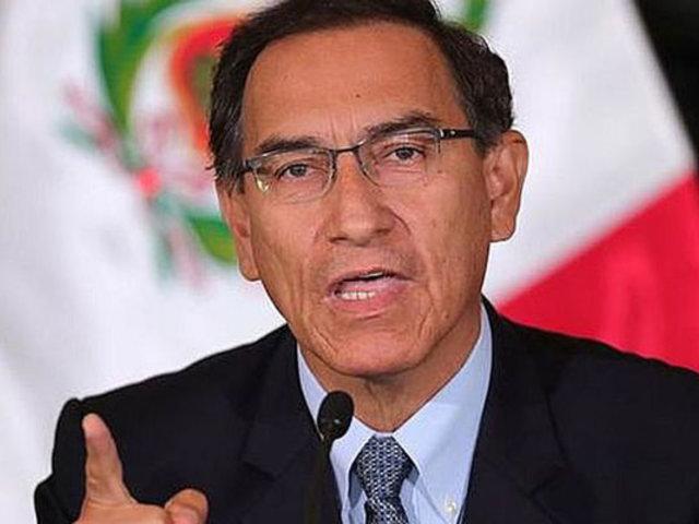 Vizcarra tras rechazo de vacancia: Sigamos trabajando por lo que realmente importa a los peruanos