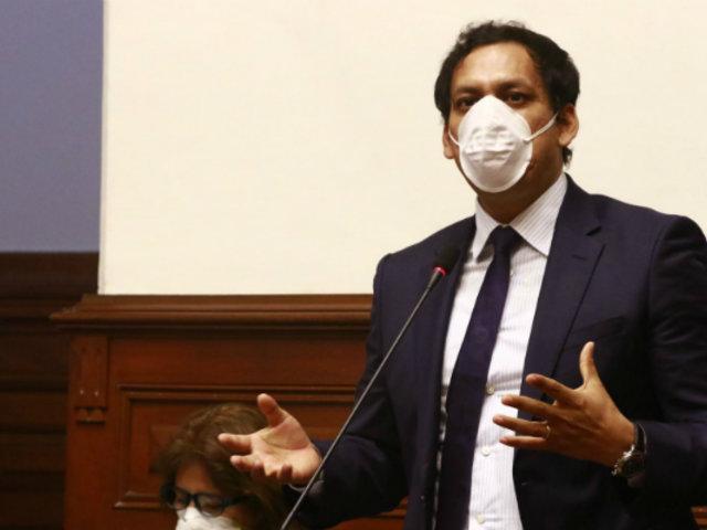 Ministra Alva: Acción Popular y APP adelantan que no apoyarán moción de censura
