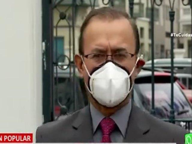 Acción Popular: Piden a ministro Incháustegui revelar nombres que lo contactaron
