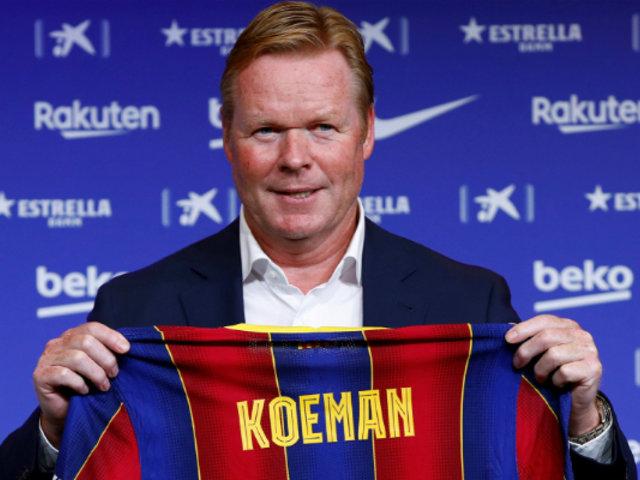 Barcelona: Koeman niega nuevas incorporaciones a la plantilla del club