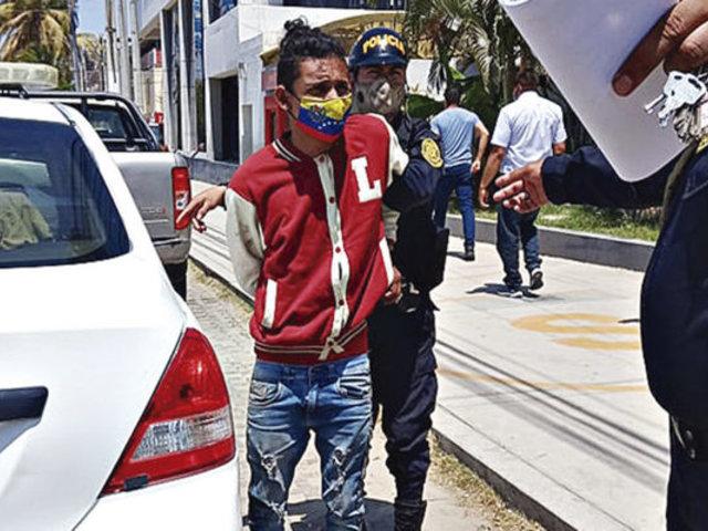 Piura: disponen prisión preventiva contra venezolano que masacró a su hijastro
