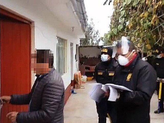 Apurímac: Ministerio Público allanó vivienda de alcalde provincial de Chincheros