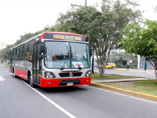 Implementarán carril exclusivo para Corredores Complementarios