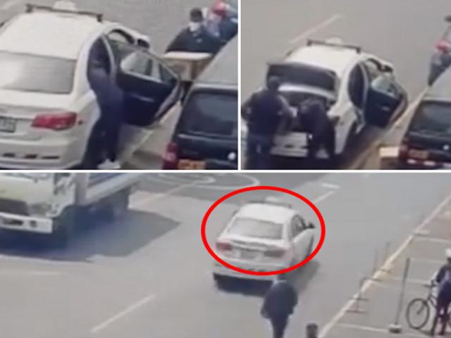 Surquillo: taxista roba equipos tecnológicos valorizados en más de 10 mil dólares