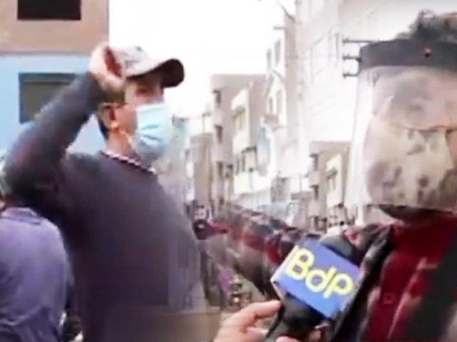 SJM: vecinos exigen paradero o bloquearán la Panamericana Sur