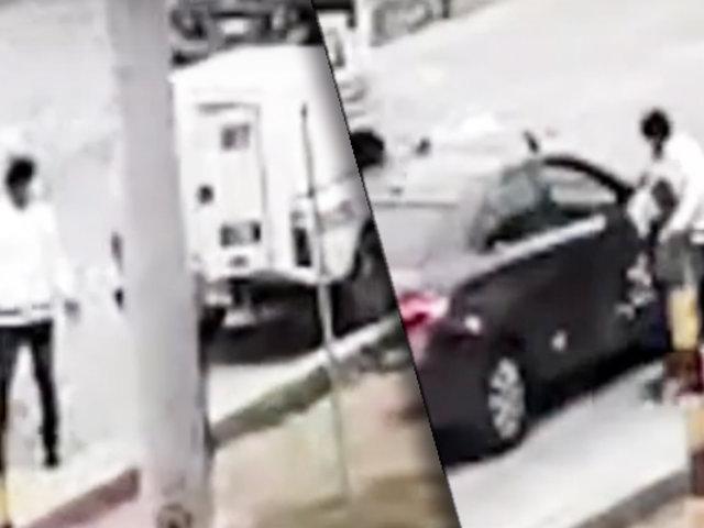 VES: ladrones se llevan costosos equipos de una camioneta valorizados en 20 mil soles