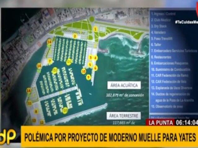 La Punta: proyecto de estacionamiento de yates haría peligrar humedal, señalan