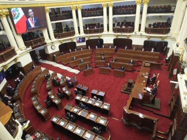 Vacancia presidencial: APP y Frepap no respaldarán moción
