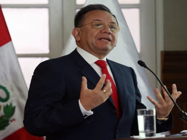 Alarcón negó gestiones para 'chuponear' a fiscales Sueno y Abia