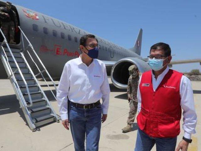 """Martín Vizcarra: """"El Perú no puede detenerse incluso por razones políticas"""""""