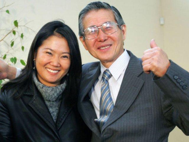 Alberto Fujimori respalda a Keiko contra pedido fiscal de suspender a Fuerza Popular