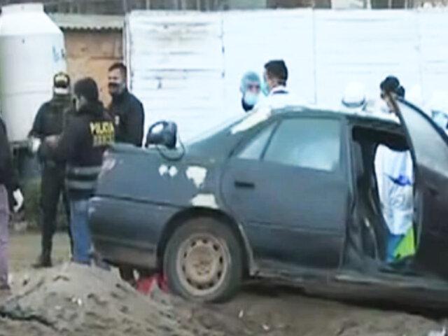 Ancón: sicario asesina a tres personas a balazos
