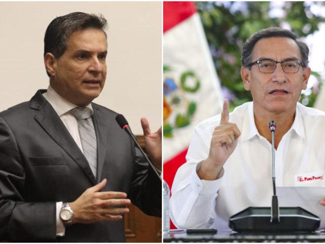 """Chehade sobre Vizcarra: """"El presidente está absolutamente deslegitimado para gobernar"""""""