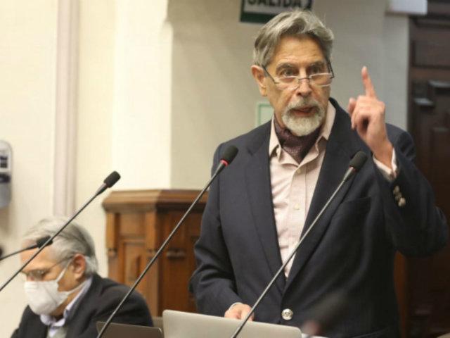 """Partido Morado invoca al Congreso a no aprobar una vacancia que está """"mal justificada"""""""