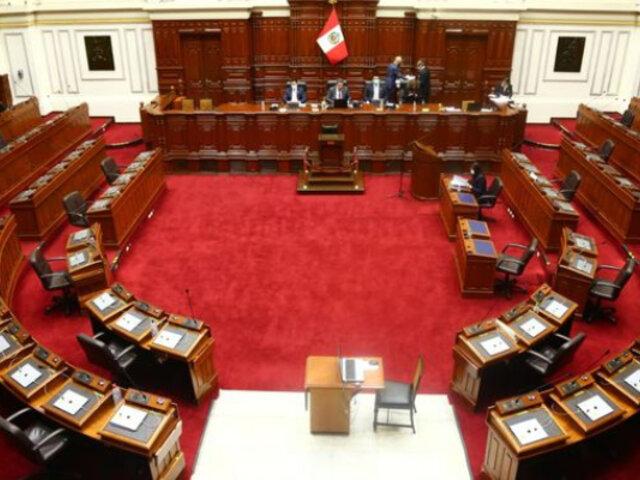 FREPAP presenta proyecto para impedir reelección de congresistas el 2021