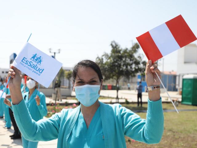 13 mil profesionales de la salud se unen a la primera línea de batalla contra el coronavirus