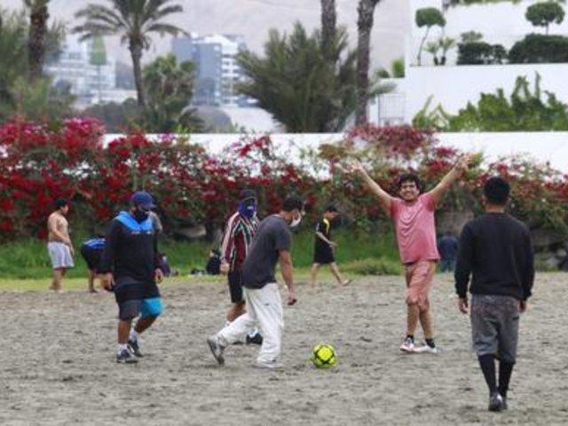COVID-19: continúan pichangas en la Costa Verde pese a estado de emergencia