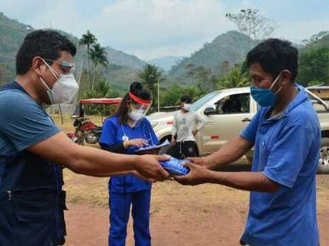 35 comunidades Asháninkas de Chanchamayo fueron atendidas por brigadas médicas del Minsa