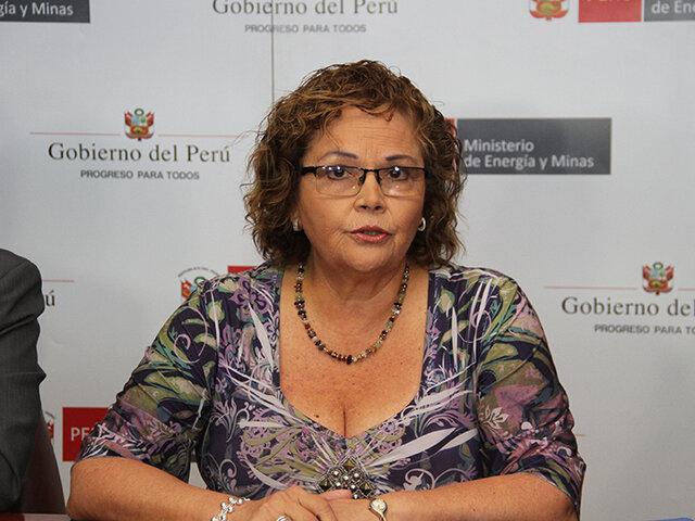 Falleció exministra de Energía y Minas, Rosa María Ortiz