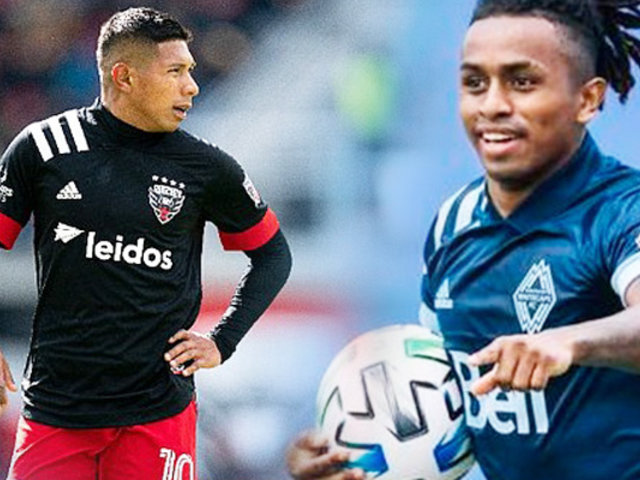 Yordy Reyna jugará junto a Edison Flores en el DC United