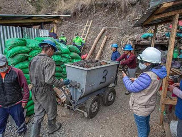 Dremh realiza operativo contra actividades mineras ilegales en Áncash