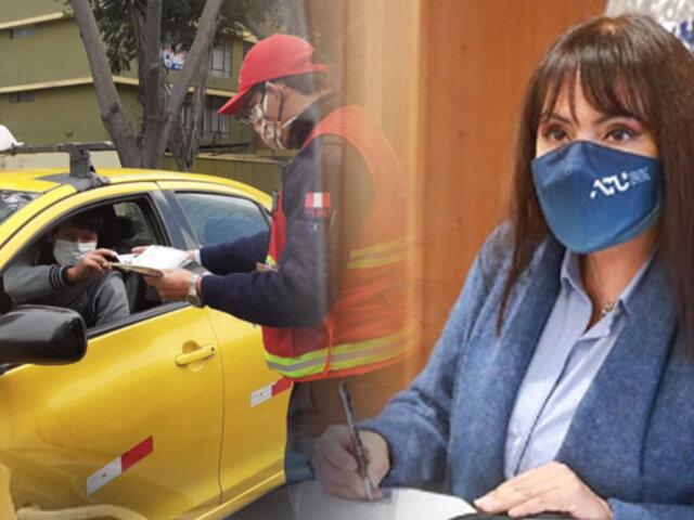 ATU plantea servicios de taxis con conductores sin antecedentes penales