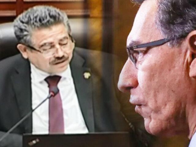 ¡EXCLUSIVO! El Congreso de Manuel Merino y Edgar Alarcón