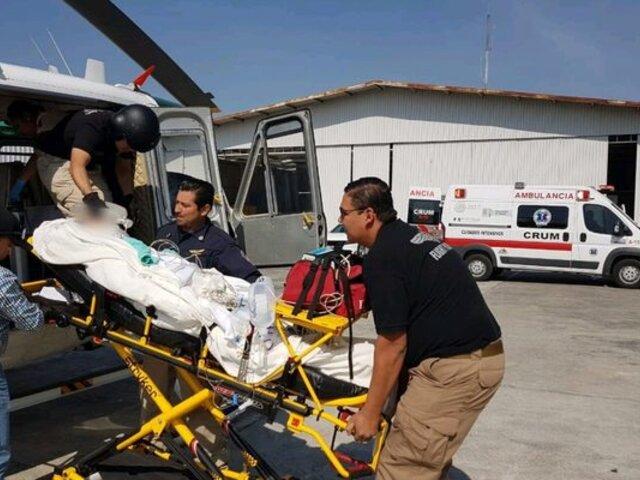 Piura: más de 10 mujeres terminaron intoxicadas tras inhalar gas amoniaco