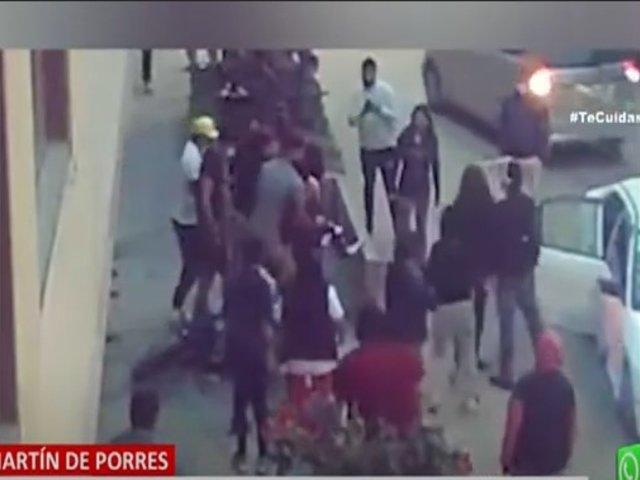 Sicarios intentan asesinar a hombre en la puerta de su casa en San Martín de Porres