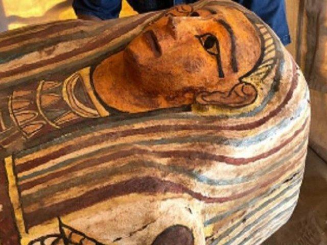 Egipto: hallan casi 30 sarcófagos de 2.500 años de antigüedad