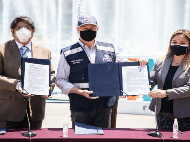 MML y Canatur firmaron acuerdo para reactivar turismo en Lima Metropolitana