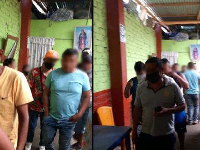 Piura: más de 60 personas fueron intervenidos bebiendo alcohol en bar