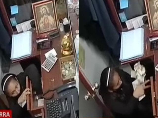 Ladrona roba en tienda mientras sus cómplices distraen a vendedoras: Gamarra
